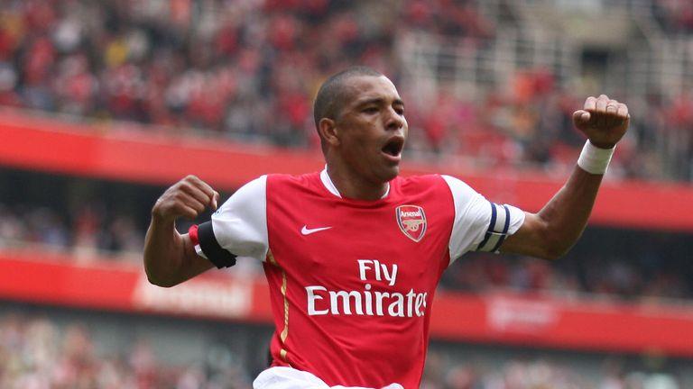 Former Arsenal midfielder Gilberto Silva represents Fred