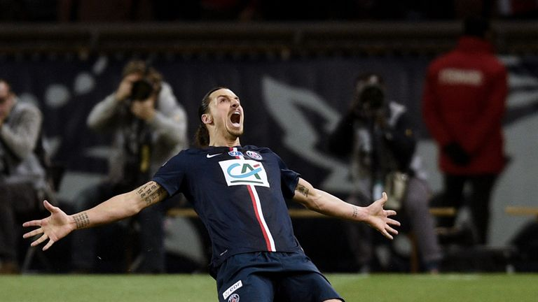 Where will Zlatan Ibrahimovic be playing next season?