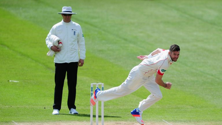James Anderson has led the Lancashire attack so far this season