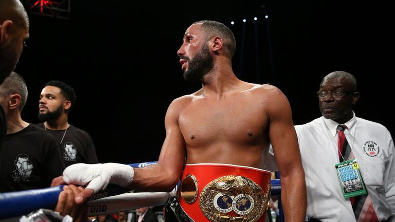 James DeGale has not fought since a unanimous decision win over Rogelia Medina in April