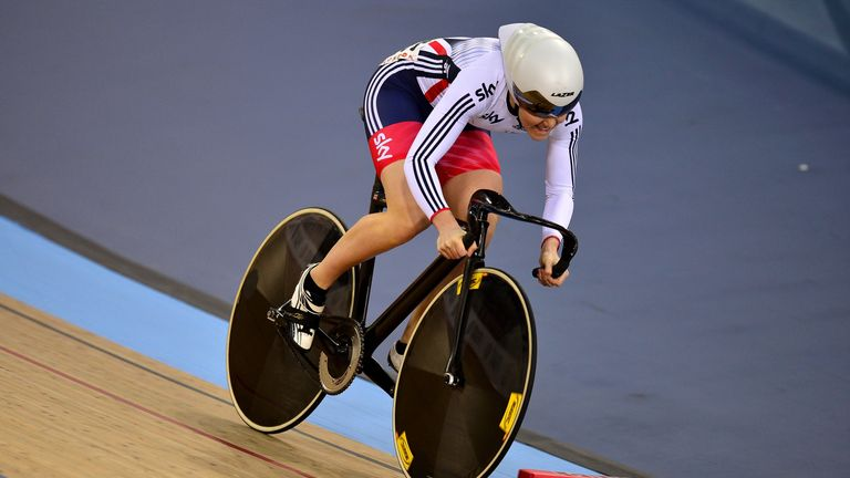 British Cycling cut Varnish's funding after she failed to qualify for the team sprint at Rio 2016