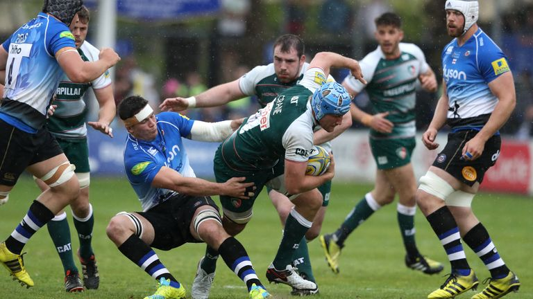 Crane (centre) excited by Aviva Premiership ambitions of Bristol