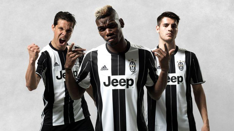 New football kits 2016/17: Bayern Munich, Juventus, Borussia
