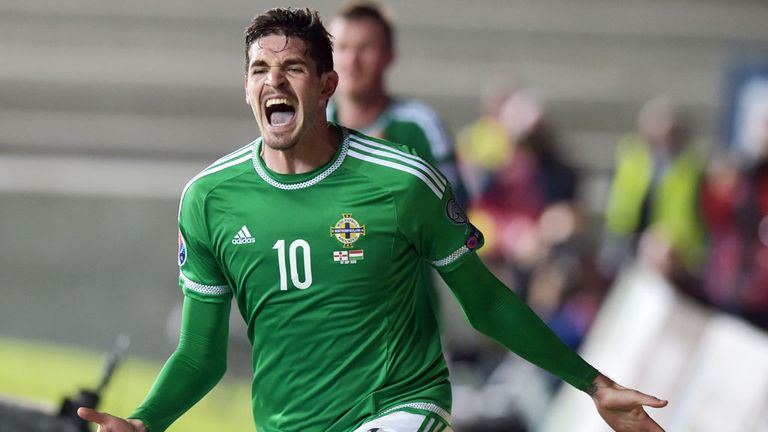 Kyle Lafferty scored seven goals in qualifying for Northern Ireland