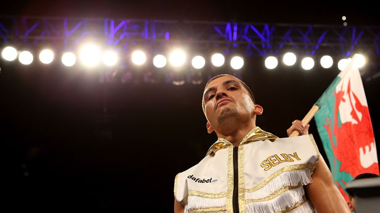 IBF world featherweight champion Lee Selby