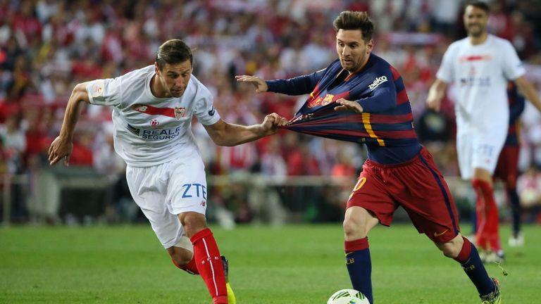 Sevilla midfielder Grzegorz Krychowiak (L) will feature for Poland this summer