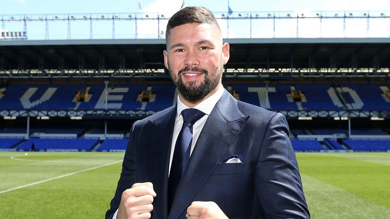 Tony Bellew: Liverpool cruiserweight is to fight at Goodison Park