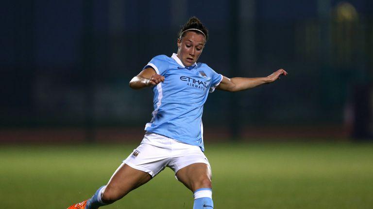 Lucy Bronze of Manchester City Women