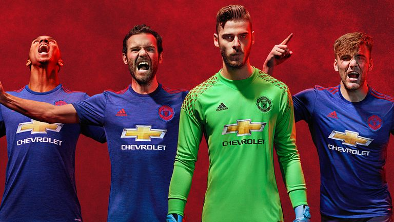 newest collection f889f 0e63d Manchester United confirm away kit for new season | Football ...