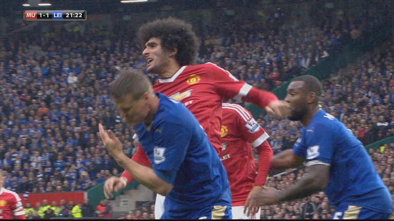 Huth was seemingly hurt by the incident as the corner came to nothing