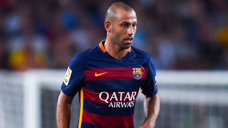 Javier Mascherano has extended his contract with the club