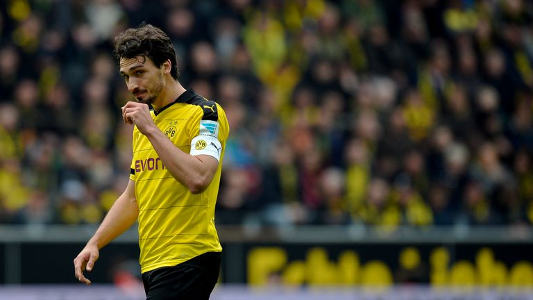 Hummels suffered a torn calf muscle on the final day of the domestic German season