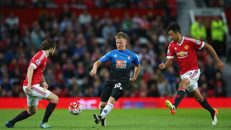 Matt Ritchie (centre) was the subject of a bid from West Ham on Monday night