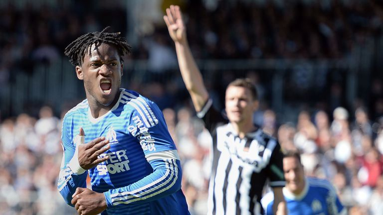 Michy Batshuayi has also been heavily linked with a move to White Hart Lane