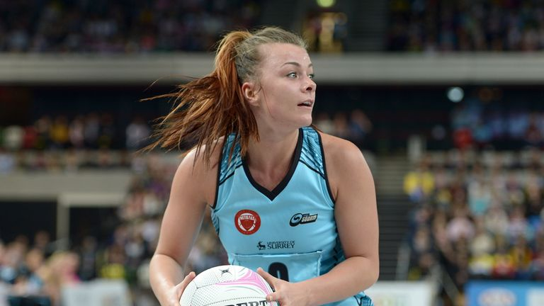 Mikki Austin is the newly appointed Director of Netball at Surrey Storm