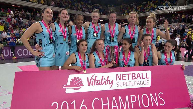 Surrey Storm win 2016 Superleague title