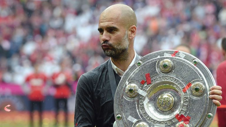 Pep Guardiola has won six league titles in his last seven seasons as a manager