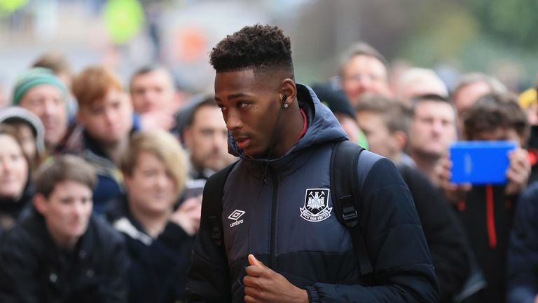 Reece Oxford of West Ham United