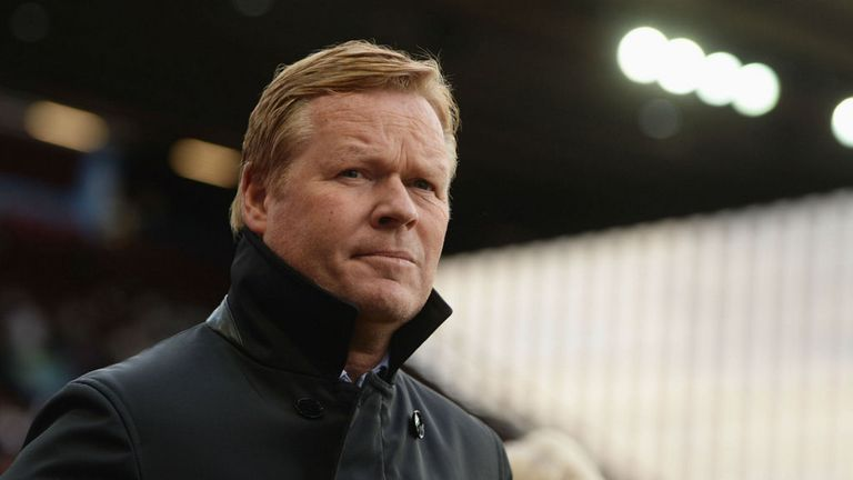 Ronald Koeman seems content to stick around at Southampton