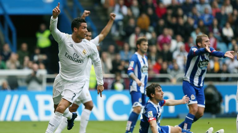 Ronaldo scored twice in Real Madrid's 2-0 win to take his tally to 51 goals