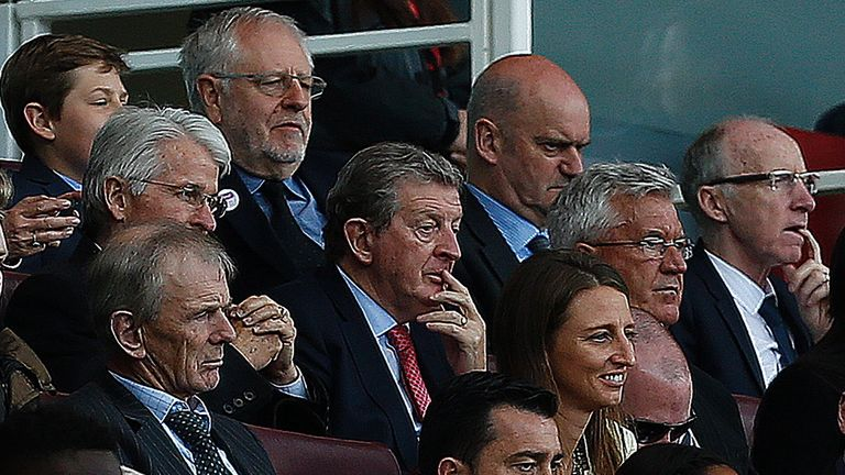 England manager Roy Hodgson was at the Emirates to watch Wilshere in action