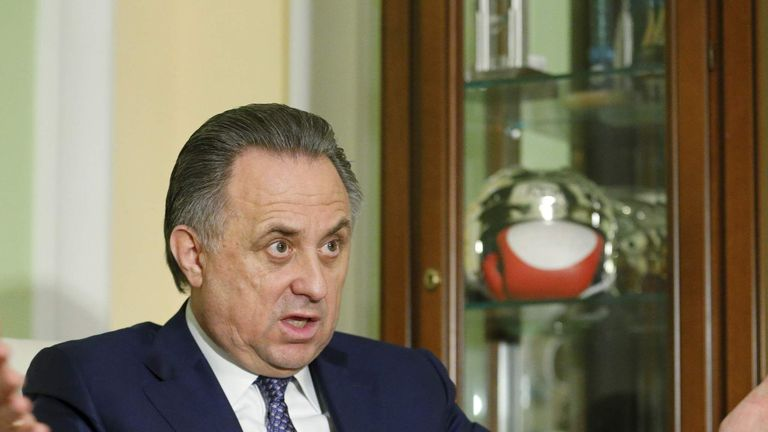 Russian sports minister Vitaly Mutko said he was grateful for the IOC decision