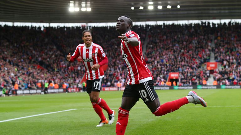 Mane has scored 21 goals in 67 Premier League games for Southampton