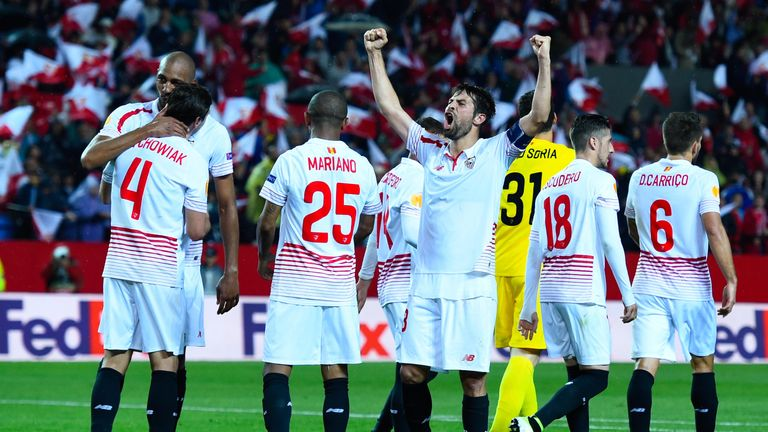Sevilla are looking for a hat-trick of Europa League titles after wins in 2014 and 2015