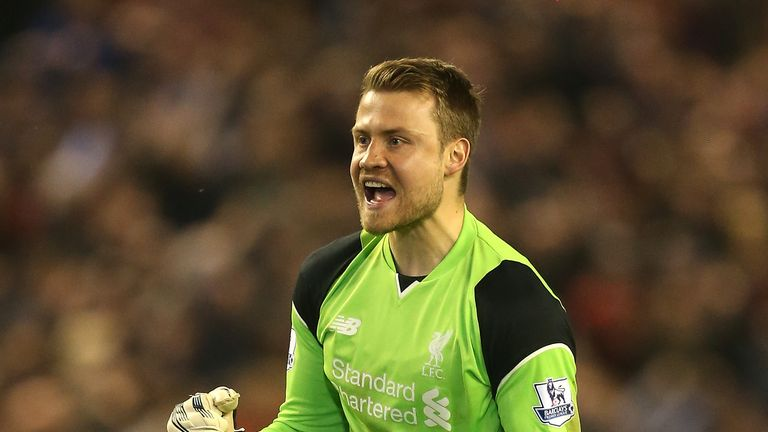 Mignolet is Liverpool's current first-choice keeper