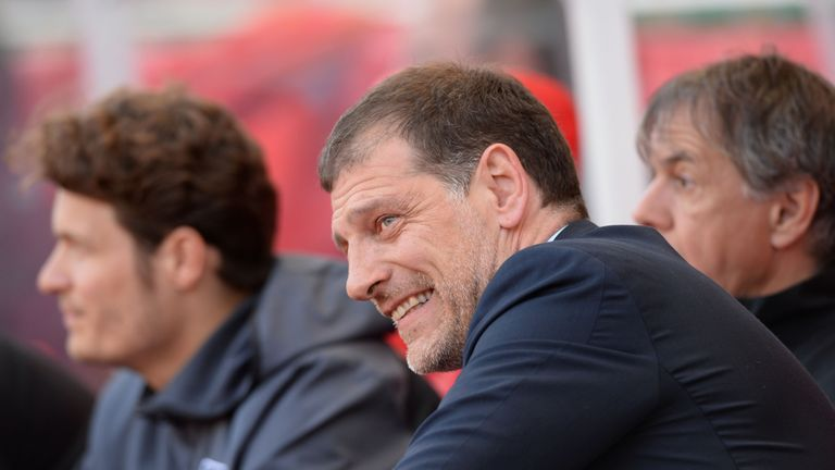 Slaven Bilic has led the Hammers into Europe in his first season in charge