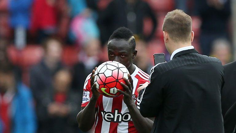 Sadio Mane bagged a hat-trick against Man City