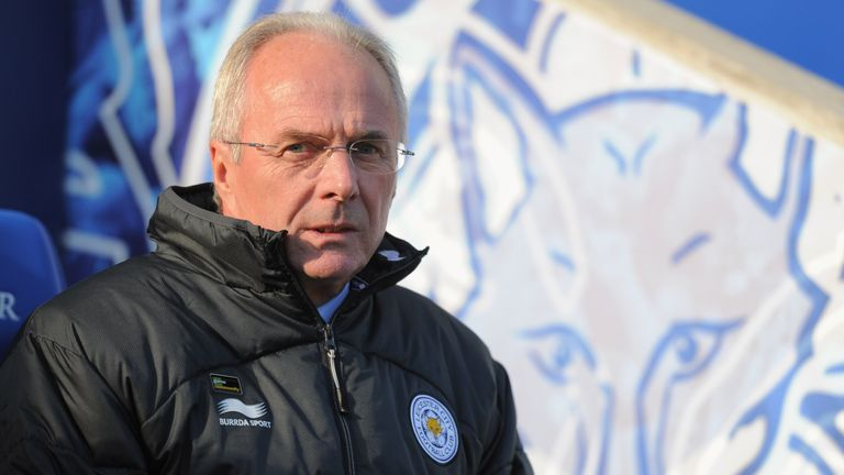 Sven-Goran Eriksson was named boss of then League One Leicester in 2010