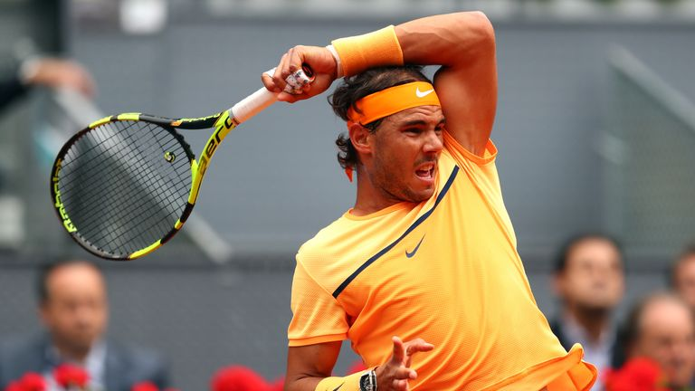 Murray snapped the Spaniard's 13-match winning streak on clay