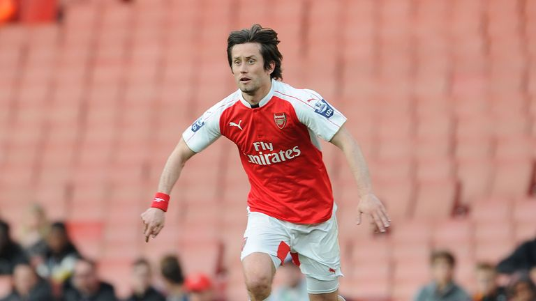 reputable site 7d7a0 b3b98 Former Arsenal star Tomas Rosicky returns to Sparta ...