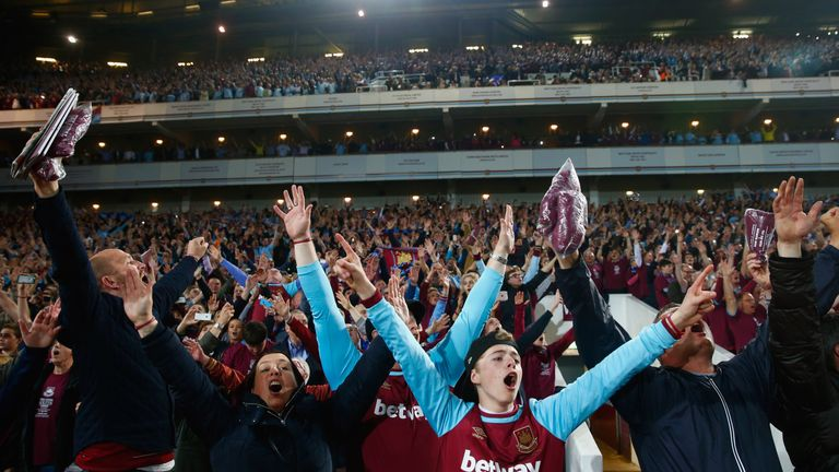The first game at the Olympic Stadium for West Ham will be a European tie