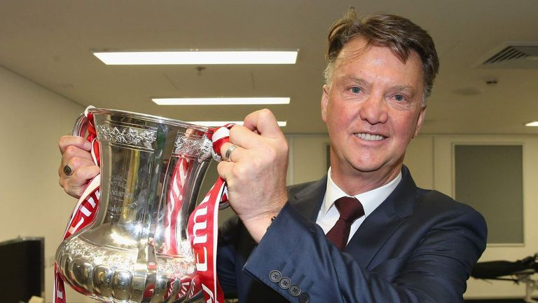 Van Gaal was sacked by United after winning the FA Cup