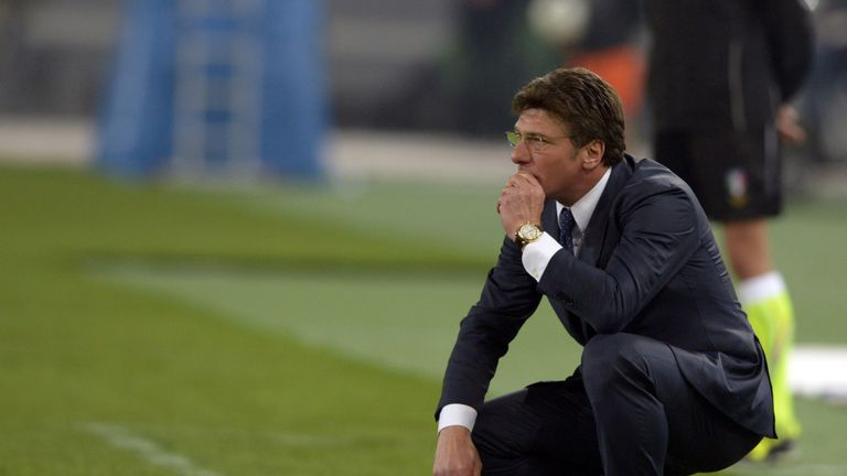 Walter Mazzarri kept Reggina in Serie A despite an 11-point deduction for match fixing