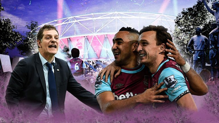Slaven Bilic and his West Ham squad will kick off in the Olympic Stadium next season