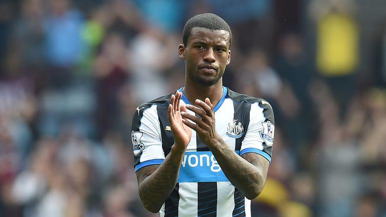 Georginio Wijnaldum is devastated about Newcastle's relegation