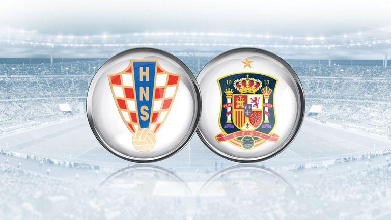 Image result for Croatia vs Spain