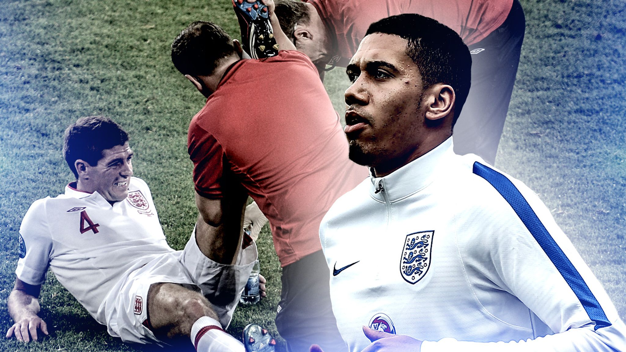 Chris Smalling most-worked player at Euro 2016 after 2015/16