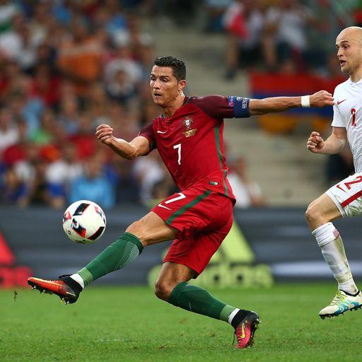 Ronaldo outshone by Nani