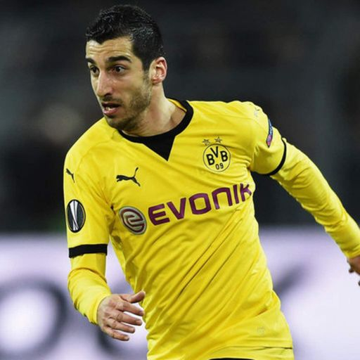 Utd agree £26.3m Mkhitaryan fee