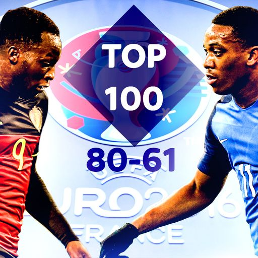 Euro 2016: Top 100 players (80-61)