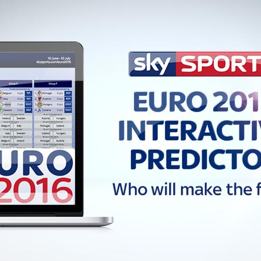 Sky Sports Euro 2016 predictor