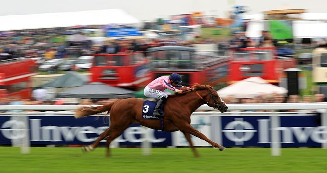 Legendary Lunch is clear of his field at Epsom