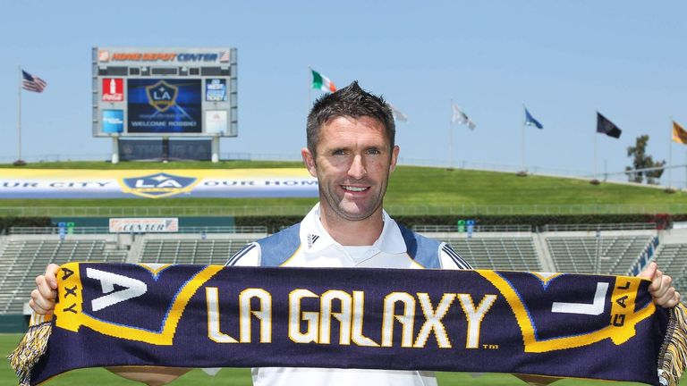 Robbie Keane went on to score more than 100 goals for Los Angeles Galaxy