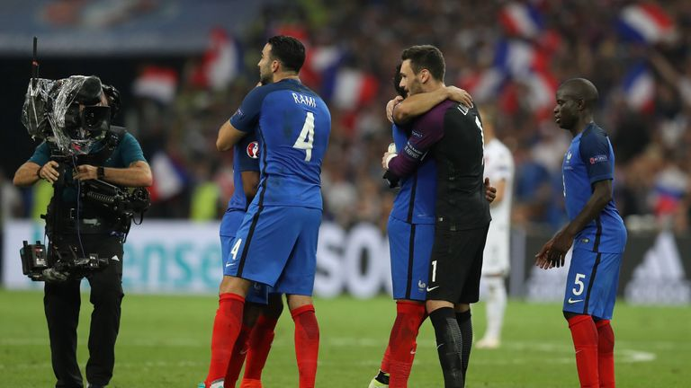 France were made to work hard for the win