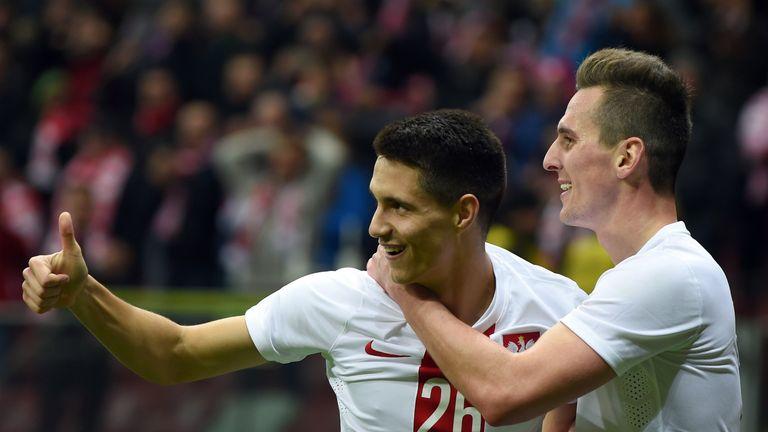 Poland's Bartosz Kapustka is likely to start for Poland against Germany