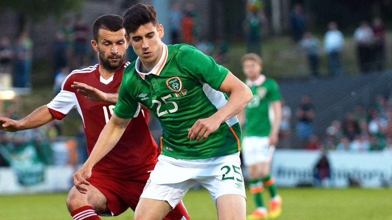 Callum O'Dowda could make his first competitive start for the Republic of Ireland against Austria on Saturday